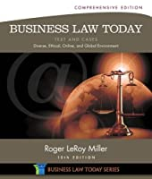 Business Law Today, Comprehensive, 10th Edition Front Cover