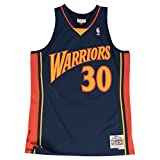 Stephen Curry Golden State Warriors Mitchell & Ness NBA Throwback Jersey - Navy