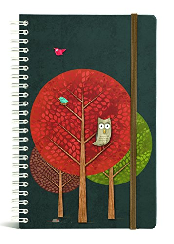 Gift Trenz Franklin Mill Midnight Snack Wire Notebook, Ruled (1233)