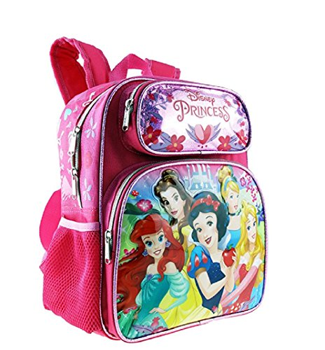 Small Backpack - Disney Princess -Cinderella Belle Aurora Rapunzel 12