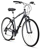 Cheap Schwinn Men's Voyager 1 700C Wheels Hybrid Bicycle, Charcoal, 16″/Small