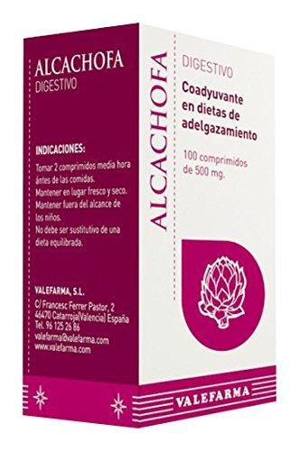 Valefarma Alcachofa - 100 comprimidos