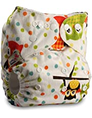 LittleBloom Bebé Pañales Lavables Pañal Reutilizable Insertos, Cierre: POPPER, Set de 1