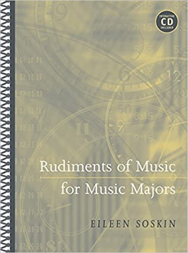 Rudiments of music for music majors with cd rom eileen soskin rudiments of music for music majors with cd rom eileen soskin 9780534638283 amazon books fandeluxe Images