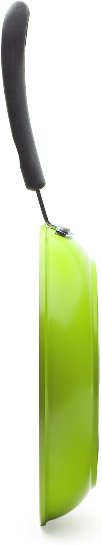 0/% PTFE 0/% PFOA Poele /à Frire 20cm Verte Rev/êtement textur/é c/éramique Anti-adh/ésif Ozeri