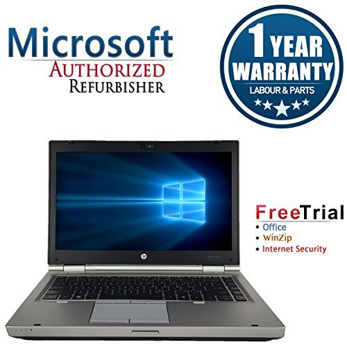 HP EliteBook CR16VFHPLP0027 14-Inch Traditional Laptop (Silver)
