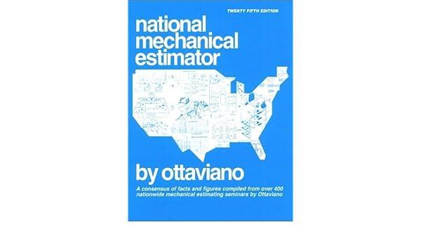 National Mechanical Estimator 25th Edition Ottaviano Technical – Mechanical Estimator