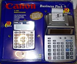 Canon P26-DH III Color Printing Calculator with Bonus LS-120TS Calculator