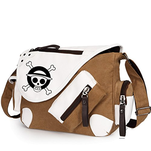 YOYOSHome Anime One Piece Cosplay Backpack Satchel Messenger Bag Shoulder Bag