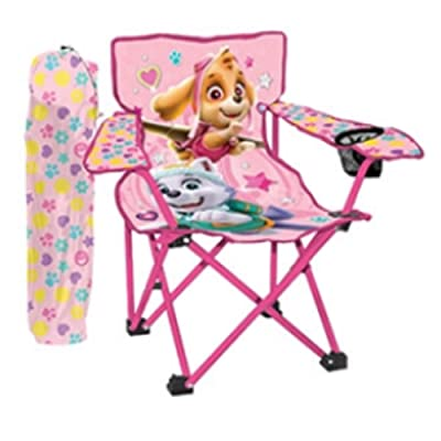 Danawares Paw Patrol Girl Camp Chair + Cup Holder Age/Grade 3-8: Toys & Games