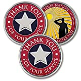 Thank You for Your Service - Military Coins - AttaCoin Veteran Gift Series (3 Pack)