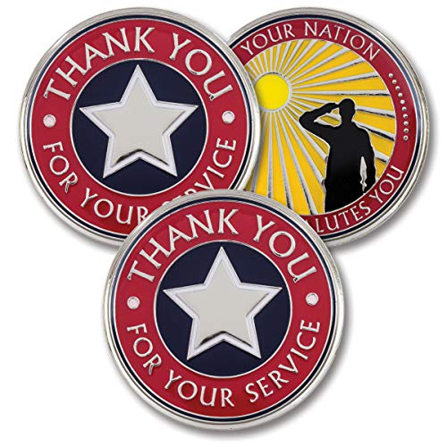 (Thank You for Your Service - Military Coins - AttaCoin Veteran Gift Series (3 Pack))