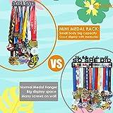 Miayork Medal Holder Display Hanger Rack Frame