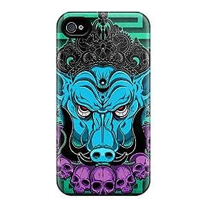 InesWeldon Iphone 4/4s Scratch Protection Phone Cover Custom HD Breaking Benjamin Skin [JoM1305DSqN]