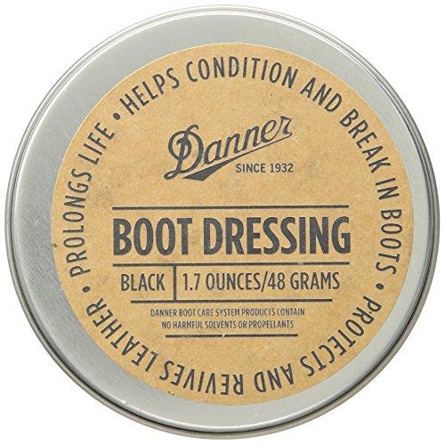 (Danner Boot Dressing 1.7 oz Shoe Care Product, Black, Universal Regular US)