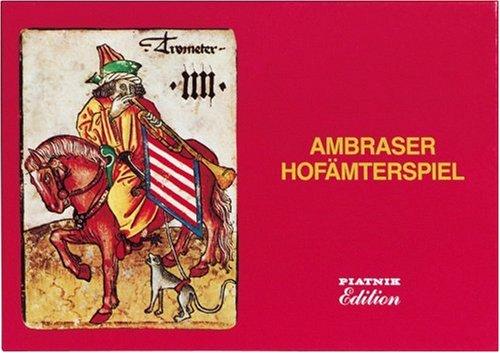 Ambraser Hofämterspiel Piatnik Reprint of 15th Century Cards