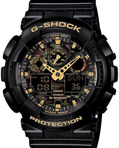 Casio-Mens-GA-100CF-1A9CR-G-Shock-Camouflage-Watch-With-Black-Resin-Band