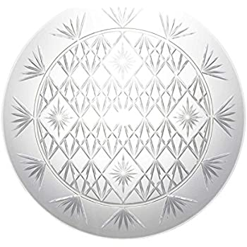 Amazon Com Party Essentials Hard Plastic 16 Inch Round
