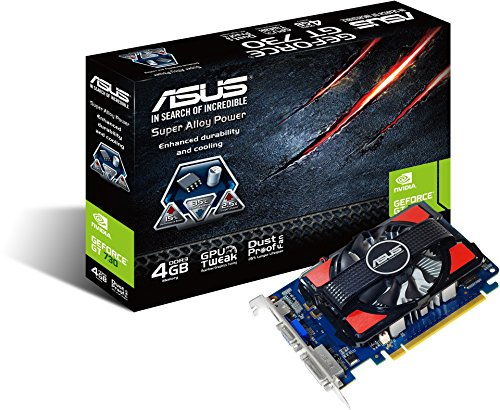 Amazon.com: ASUS NVIDIA GeForce GT 730 4 GB 90yv06 m0-m0na00 ...