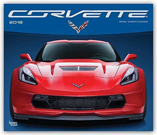 Corvette 2018 Deluxe Wall Calendar