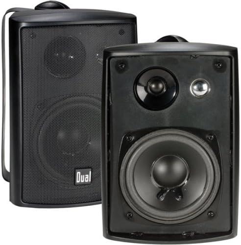 Dual Electronics LU43PB 3-Way High-Performance Outdoor Indoor Speakers