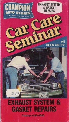 Car Care Seminar - Exhaust System and Gasket Repairs