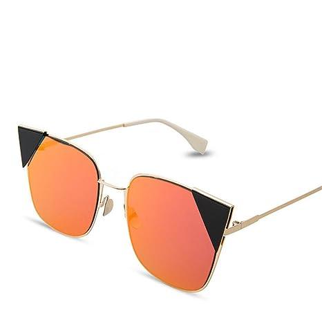 HONG Occhiali da sole fashion all-in-One Ultra Light Occhiali da sole di metallo hL7Da,