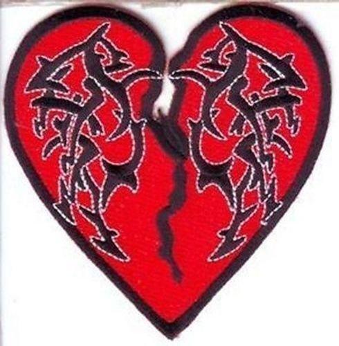 Amazon com: TRIBAL HEART Embroidered Biker Motorcycle MC