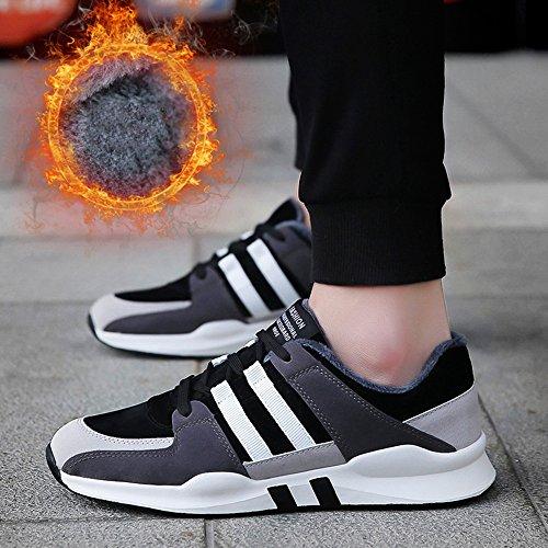 3 Size Feifei Colors Sport Keep CN39 Color UK6 01 Plate Leisure Men's Winter Warm Shoes Shoes EU39 OAqvFxz