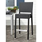 Safavieh Home Collection Bethel Black Indoor/ Outdoor 29.5-inch Bar Stool Review