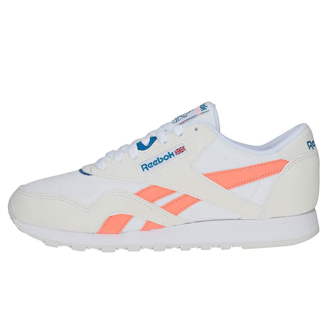 Schuhe Reebok Classic Nylon Weiß Rosa CN2966 Damen Herren