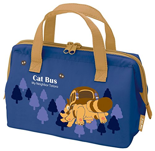 Studio Ghibli My Neighbor Totoro Gamaguchi Lunch Bag(Cat-Bus Series)