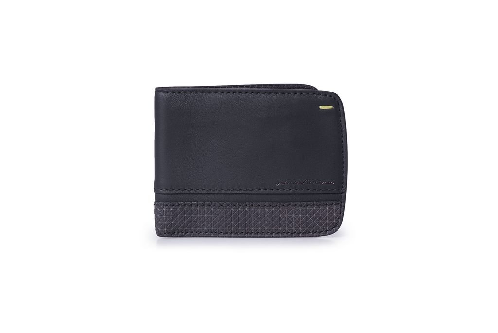 12/ cm Black Pininfarina Folio Money Clip