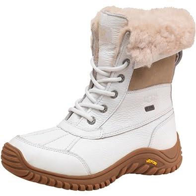 6d718b689b2 Womens Ugg Adirondack II Boots White Girls Ladies (4.5 UK 4.5 US 6 ...