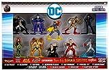 DC Nano Metalfigs Batman, Bizarro, Batgirl, Flash, Catwoman Poisin Ivy, Hawkman, Black Adam, Shazam, Captain Atom