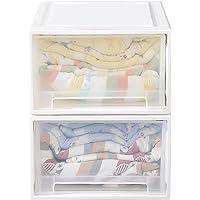 Storage Drawers Set Cabinet Tool Organiser Box Drawer Plastic Stackable 2PK 2pcs for 10L 2pcs for 10L