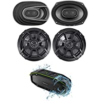 """2) Polk Audio MM692 6x9"""" 900w 3-Way Car Audio Speakers+Pair Kicker 6.5 Speakers"""