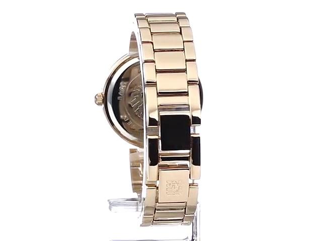 Anne Klein Women's Genuine Diamond Dial Bracelet Watch 5