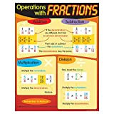 Trend Enterprises Operations with Fractions Learning Chart (T-38124)
