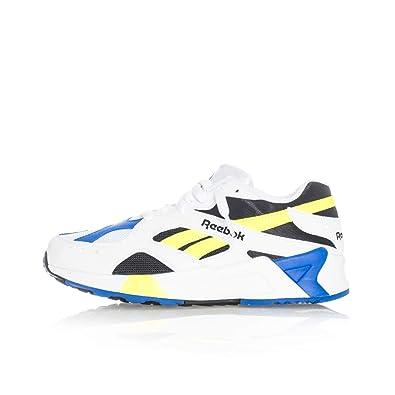 8c605292794 Reebok Aztrek, White-Black-Cobalt-Yellow, 13: Amazon.fr: Chaussures et Sacs