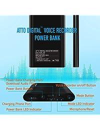 Grabadora activada por voz de gran capacidad   380 horas de grabación MP3 en formato digital
