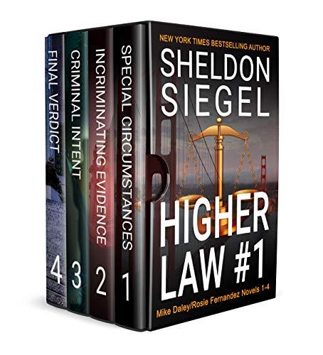 Higher Law Box Set, Volume 1: Mike Daley/Rosie Fernandez Novels 1-4