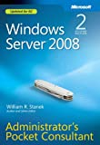 Windows Server 2008 Administrator's Pocket Consultant (2nd Edition)