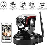 NexGadget 720P Wireless IP Security Camera Pan/Tilt with Two-way Audio, Motion Detection Alerts, Night Vision, Home Surveillance Camera