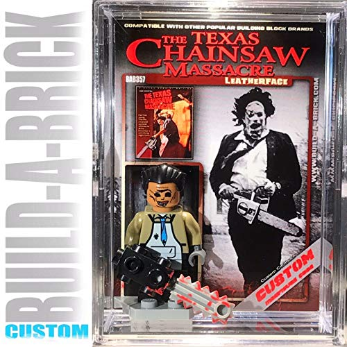 Leatherface Texas Chainsaw Massacre Custom Mini Action for sale  Delivered anywhere in USA