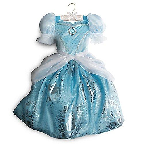 Disney Store Princess Cinderella Costume - 2017 - Blue Gown Dress (9/10) ()