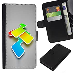 EJOY---La carpeta del tirón la caja de cuero de alta calidad de la PU Caso protector / HTC DESIRE 816 / --Colores