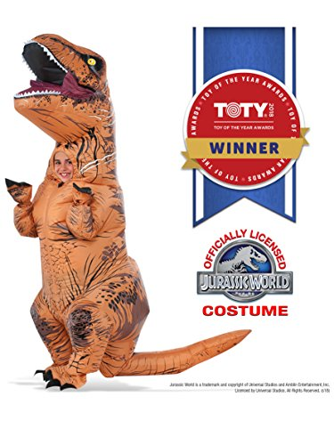 Rubie's Jurassic World T-Rex Inflatable Costume, Child's Size Small ()
