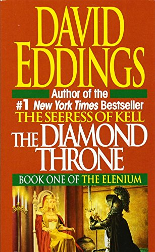 book cover of The Diamond Throne