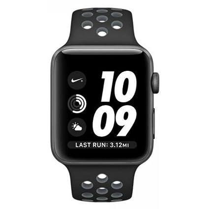 Amazon.com: Apple Watch Nike+ 42mm Space Gray Aluminum Case ...